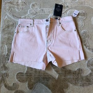 Gap high rise pink shorts - 27 - new